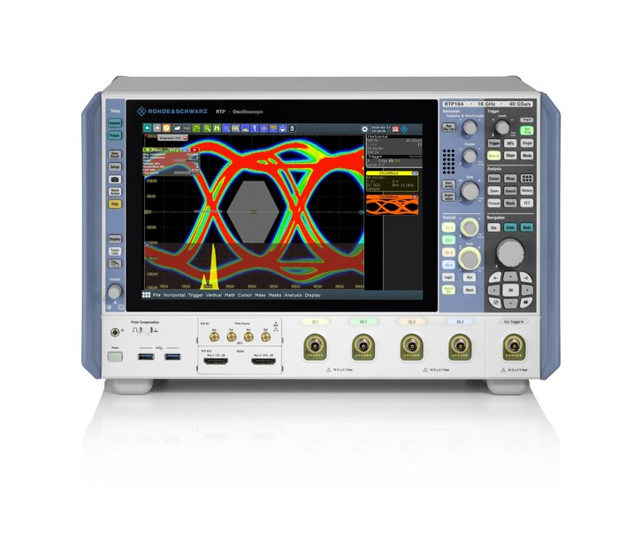 R&S RTP high-performance oscilloscope from Rohde & Schwarz doubles maximum bandwidth to 16 GHz
