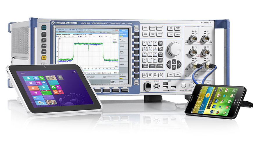 Rohde & Schwarz presents comprehensive IEEE 802.11ax compliant WLAN signaling test solution