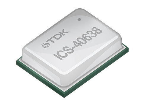 TDK announces ultra-high AOP Analog MEMS microphone, ICS-40638