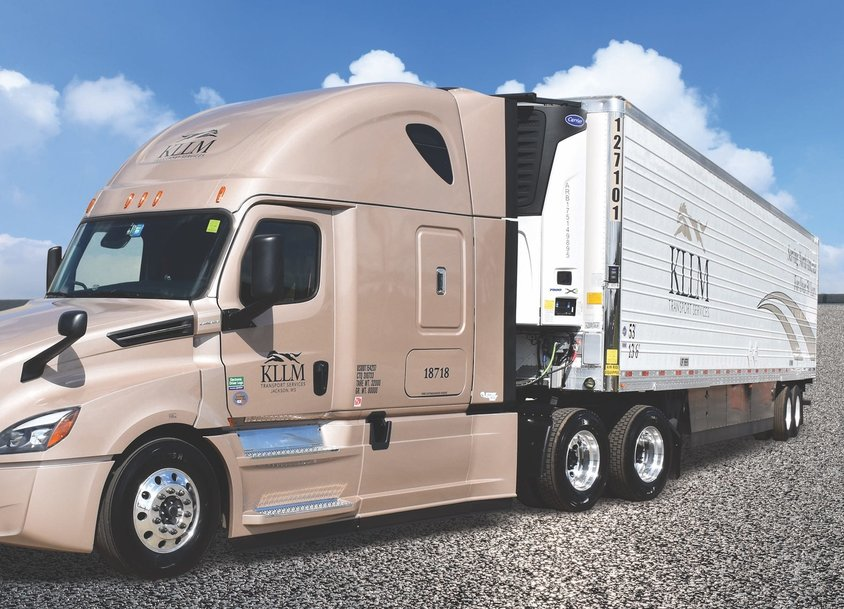 KLLM Adds 1,400 Carrier Transicold Refrigeration Units with eSolutions Telematics and Solar Charging Systems