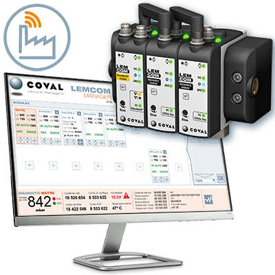 COVAL's LEMCOM Manager: vacuum management made easy